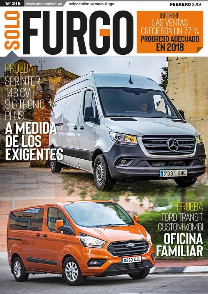 Revista Solo Furgo 216 Febrero 2019