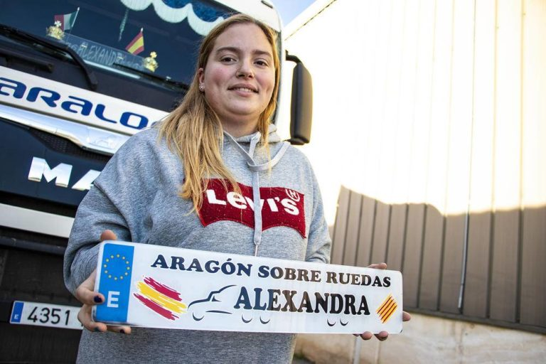 Soy camionera: Alexandra Zueras, hacerse valer