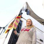 Camionera Alexandra Zueras