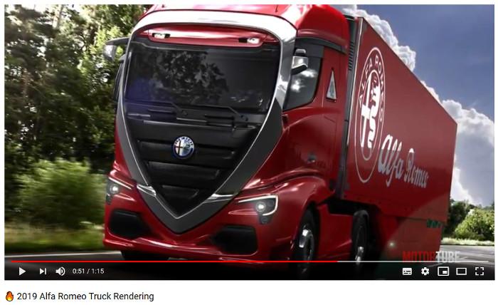 Alfa Romeo Truck ¿para 2019?