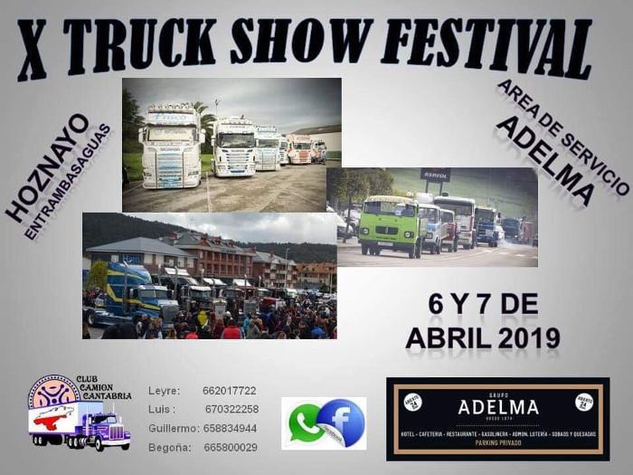 Llega el X Truck Show Festival de Hoznayo