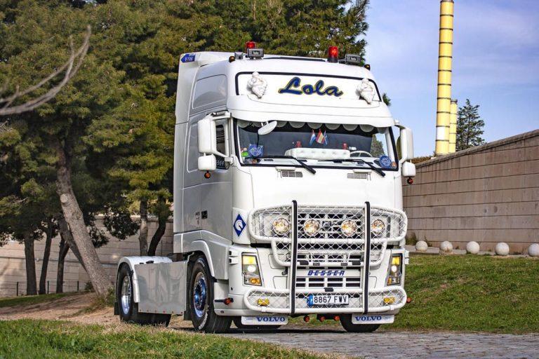 El Volvo FH13 de Juan Martínez Bellido, viaje de despedida