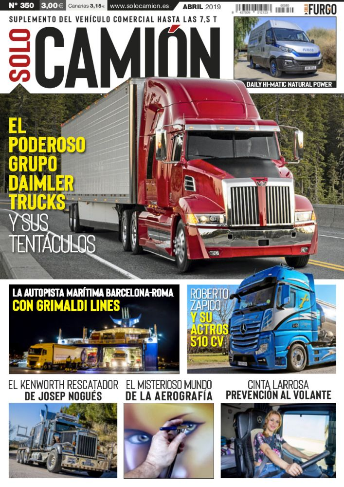 Revista Solo Camión 350 Abril 2019