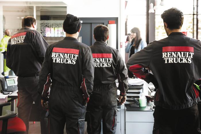 El mantenimiento a medida de Renault Trucks