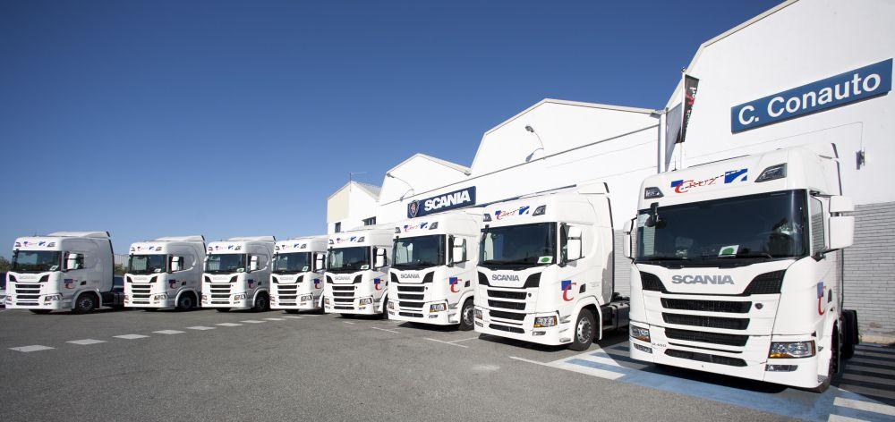 Transportes Cruz Scania