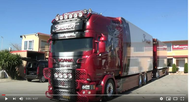 El Scania personalizado, el R999 de Sarantos