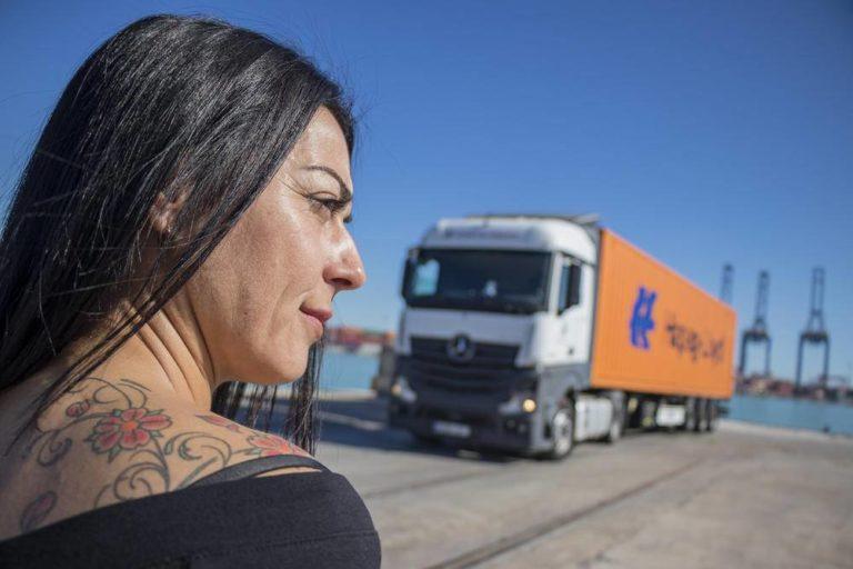 Camionera Vanesa Castillo