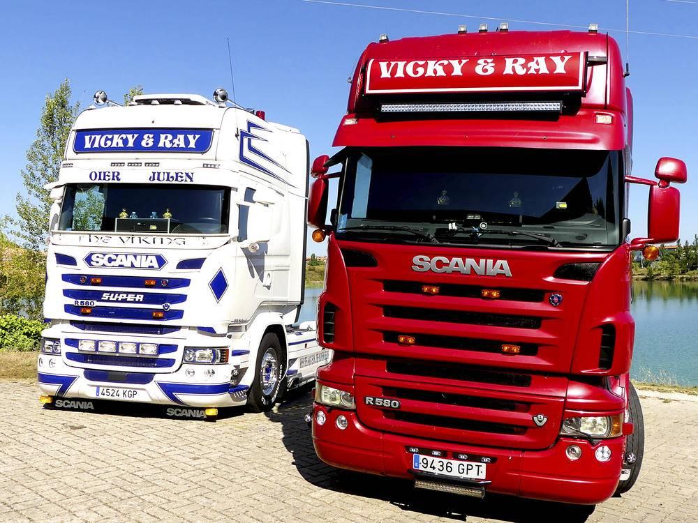 Scania R580 Hermanos Mendoza