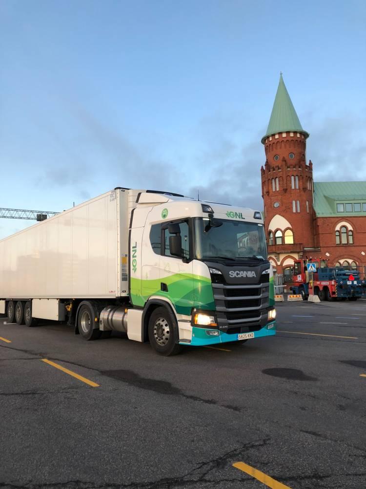 Scania Gas Castellón Estocolmo