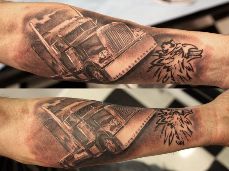 Top 15 de tatuajes para los más camioneros