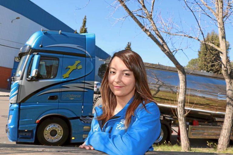 Soy camionera: Rosa Zapico, cambio de tercio