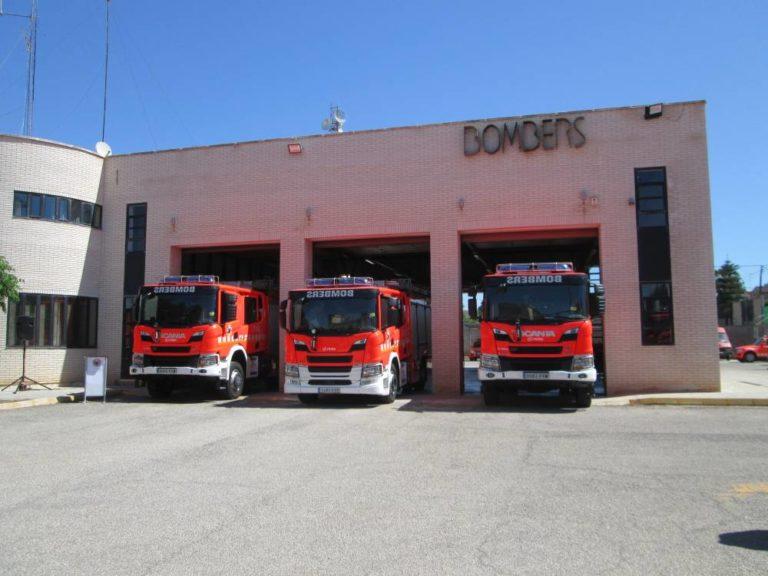 11 nuevos vehículos contra incendios con chasis Scania para Valencia