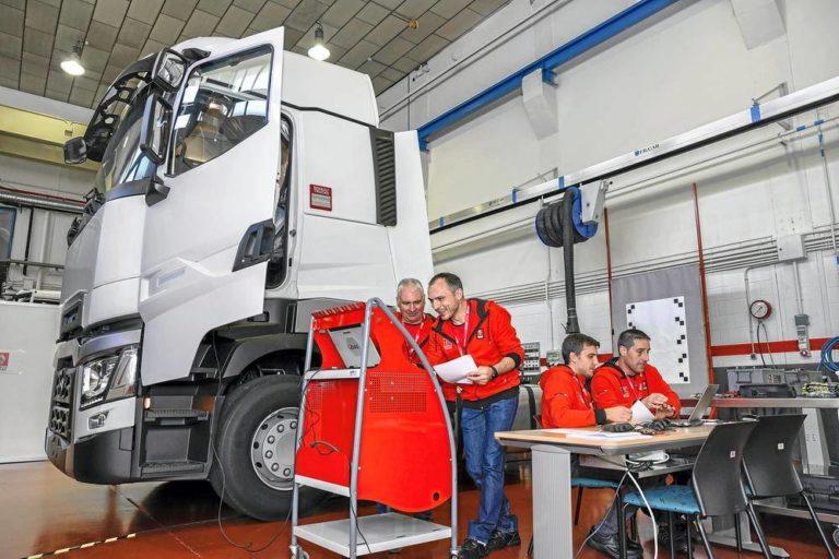 Campeonato de Posventa de Renault Trucks, formarse en la excelencia
