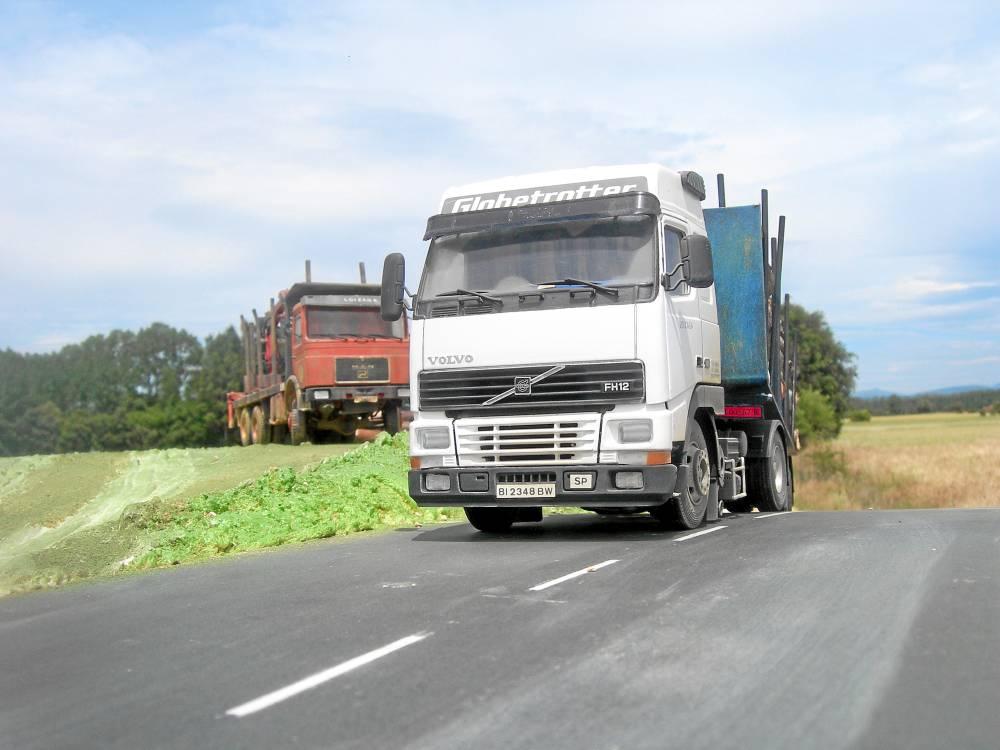 20 aniversario MAN F90 y Volvo FH12