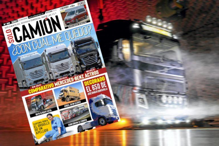 Venta Solo Camión 356 octubre 2019
