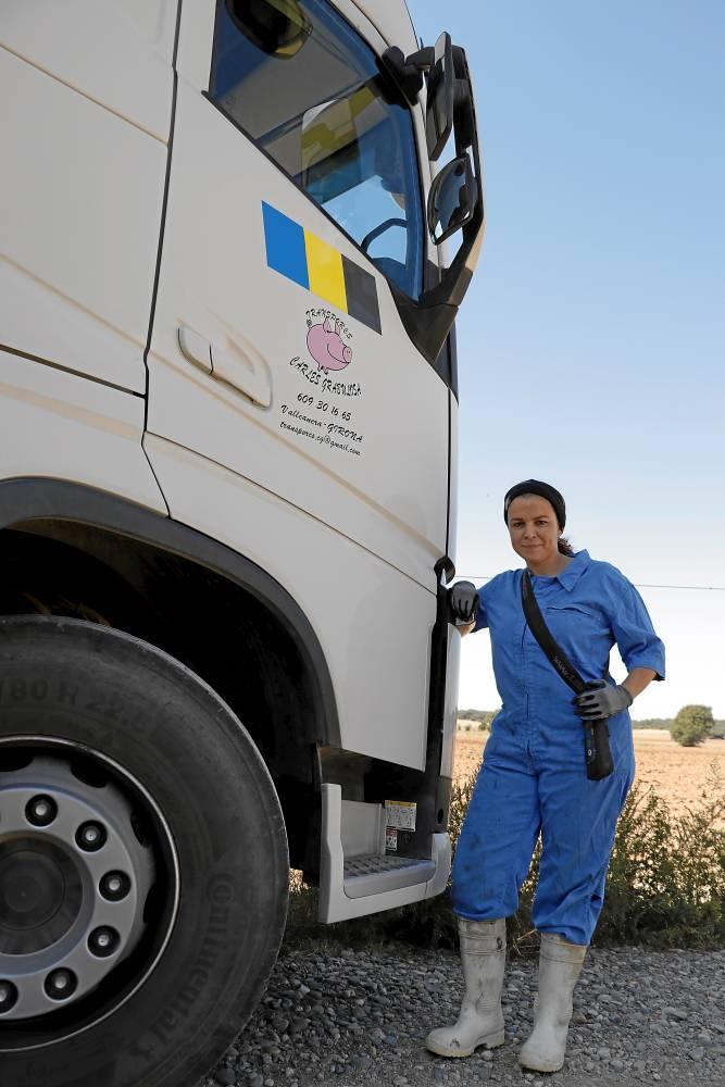 Camionera Sabrina Roma Leal