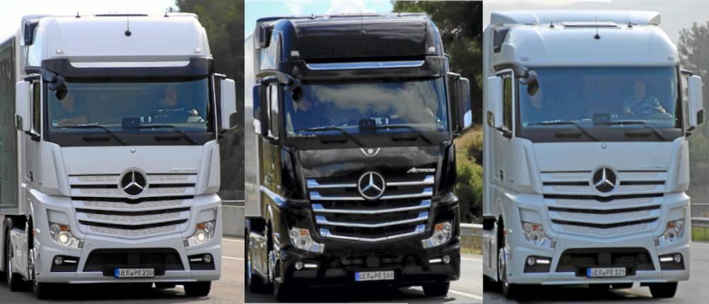 Comparativa Mercedes-Benz Actros