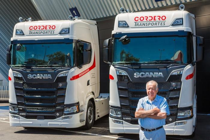 Transportes Cordero incorpora dos V8 de Scania