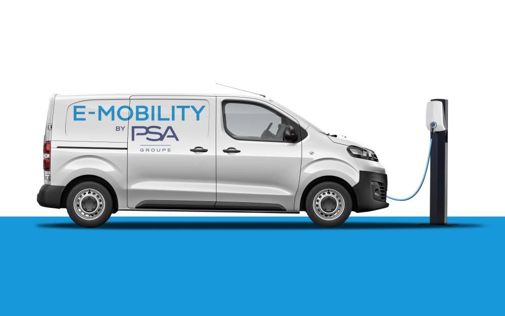Groupe PSA eléctricos