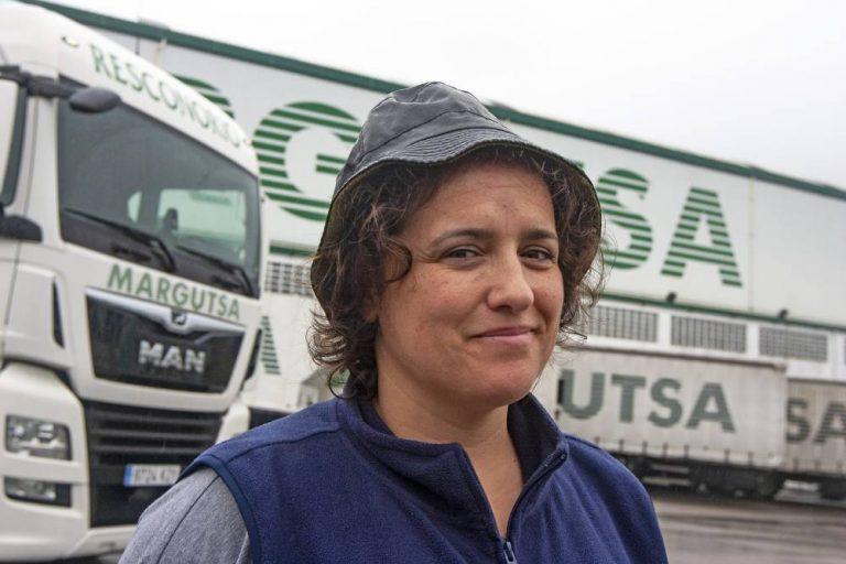 Soy camionera: Susana Vidrago Antunes, la simbiosis perfecta