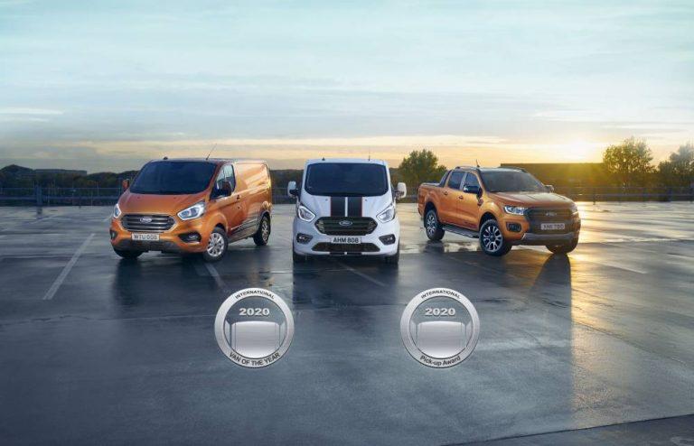 Gama Ford vehículos comerciales