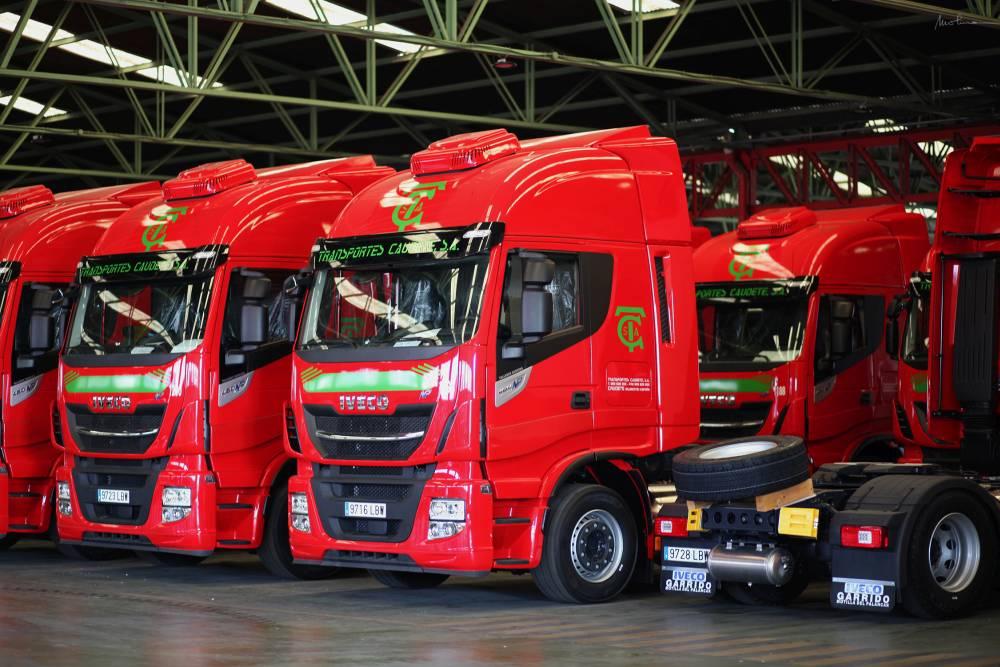 Iveco Stralis NP460 Transportes Caudete