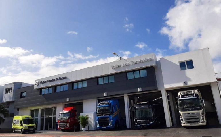 Taller Tarahales Volvo Trucks Gran Canaria