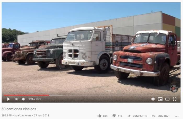 El paraíso de los camiones clásicos