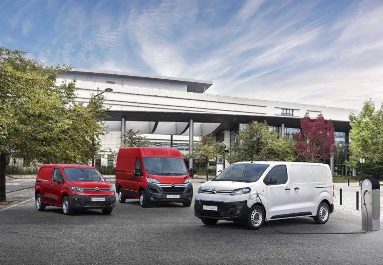Los furgones eléctricos de Citroën se preparan para el mercado
