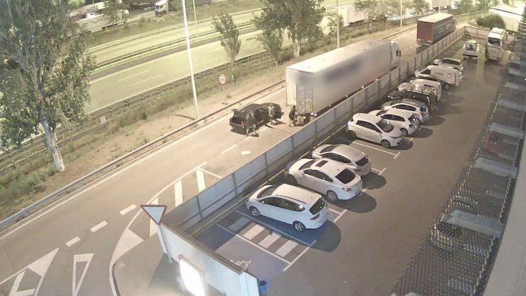 Desarticulada una banda criminal que robaba la mercancía de los camiones en la AP-7