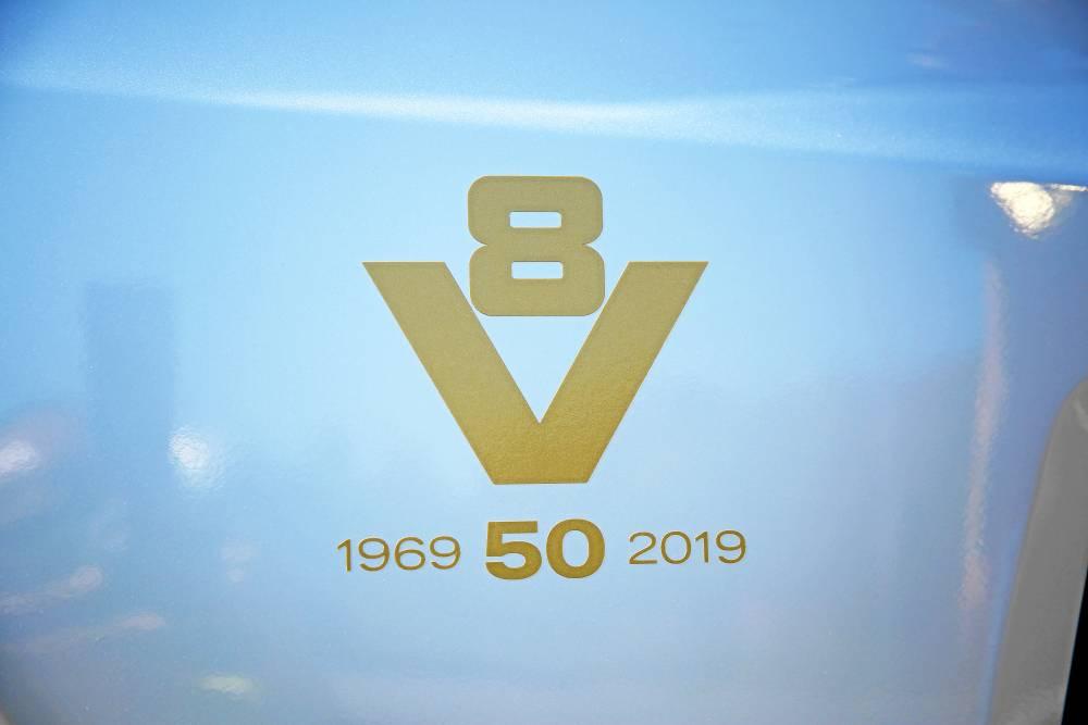 Scania S650 V8 50 Aniversario