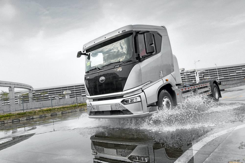 Camiones eléctricos BYD