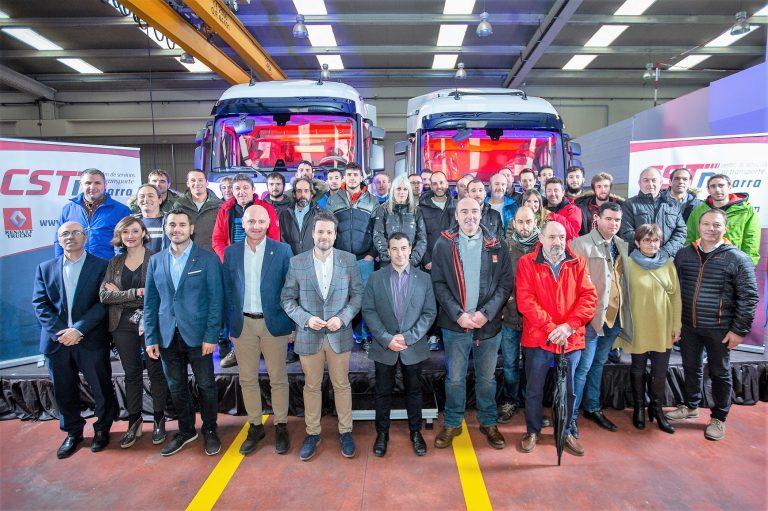Renault Trucks inaugura instalaciones en Tudela