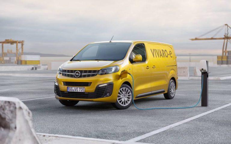 El Opel Vivaro se convierte en 100 % eléctrico este año