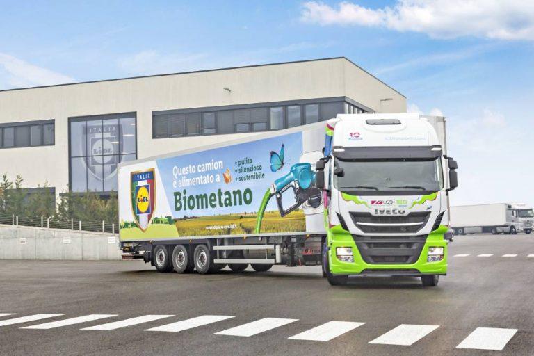 Los primeros vehículos industriales pesados alimentados con biometano