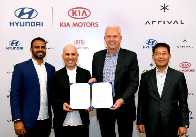 Hyundai, Kia y Arrival furgos eléctricas
