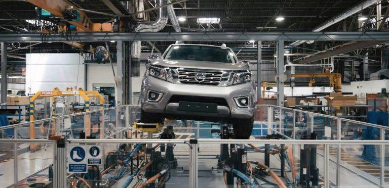 Los pick-ups de Nissan se someten al laboratorio de resistencia