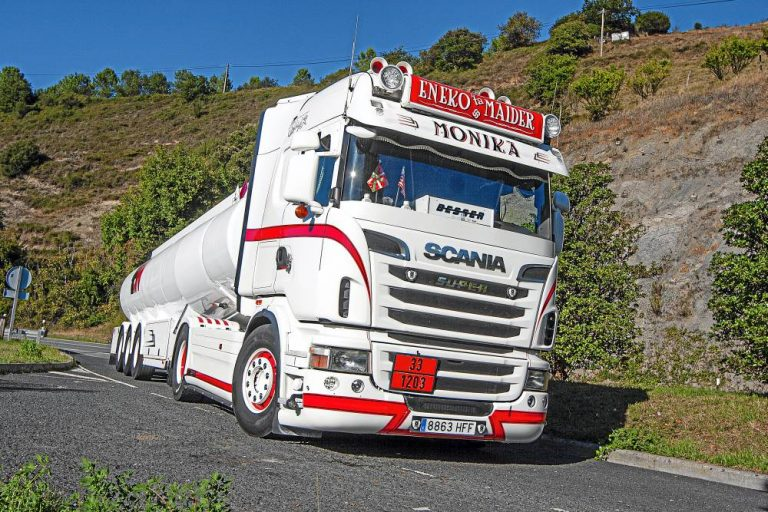 Scania ADR Transport; David Omar, luchador nato