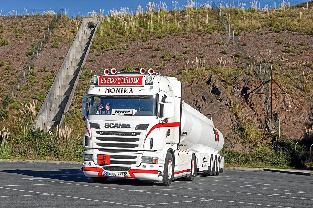 Scania David Omar