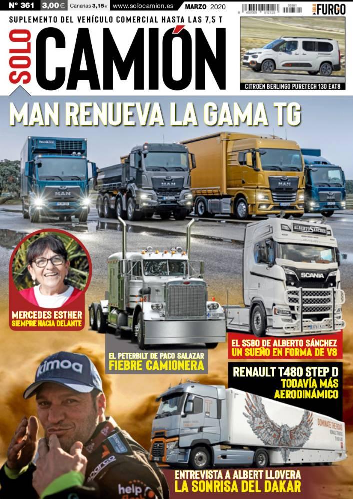 Solo Camión 361 Marzo 2020