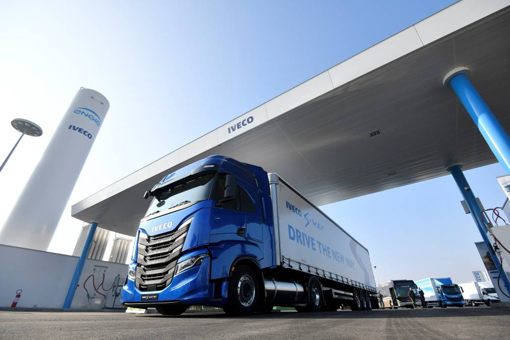 Gasinera Iveco Engie