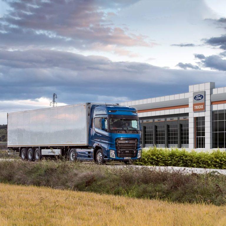 La red de concesionarios Ford Trucks al servicio de los transportistas