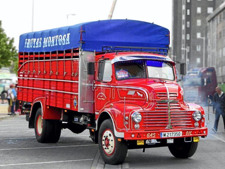 Leyland Comet de Frutas Montosa, atreverse ya es ganar
