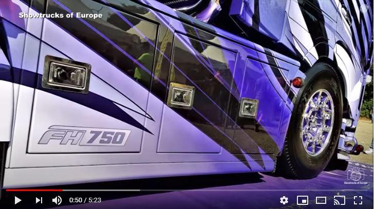 Nos subimos al Volvo FH16 750CV a lo Bon Jovi de Harry van Dalen