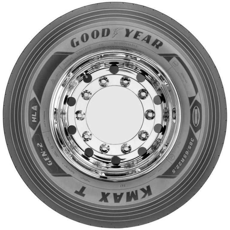 La familia de neumáticos Goodyear KMAX GEN-2 crece