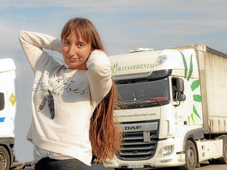 Camionera Saray Muñoz Flores