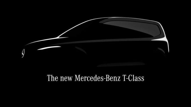 El Clase T de Mercedes-Benz, el nuevo monovolumen compacto