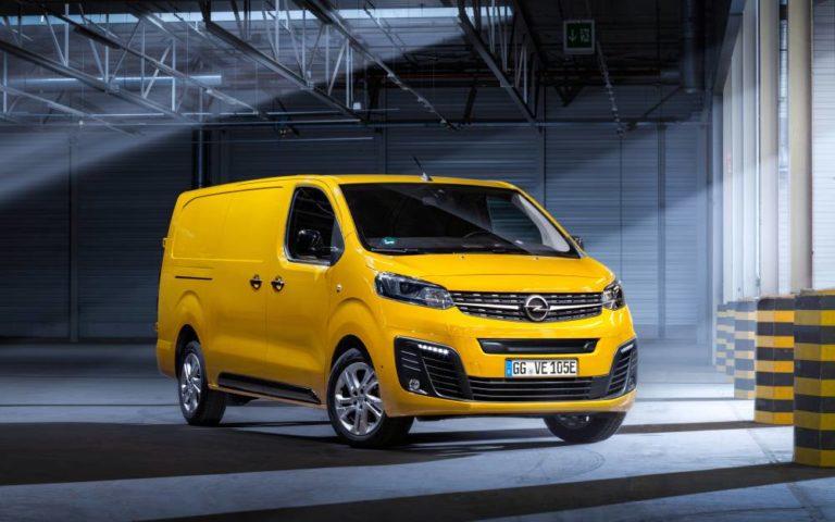 Opel abre los pedidos del Vivaro-e, la variante 100 % eléctrica