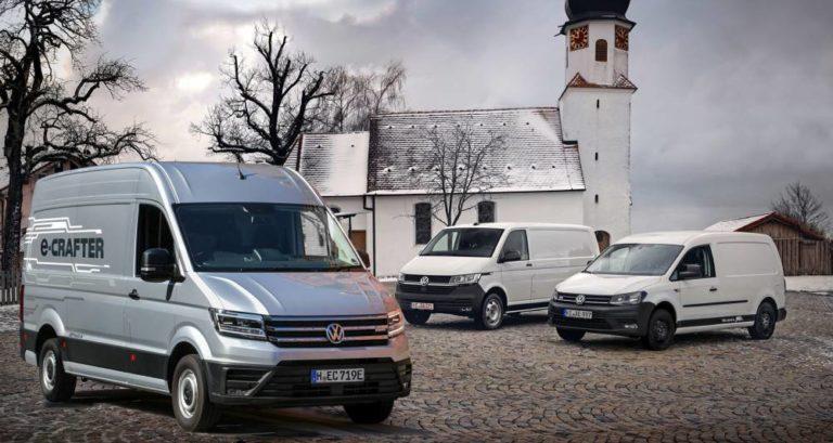 Los 100% eléctricos de Volkswagen para el reparto de proximidad