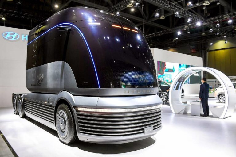 Hyundai escoge Corea para mostrar su camión HDC-6 Neptune Concept